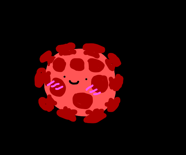 cute covid-19 virus