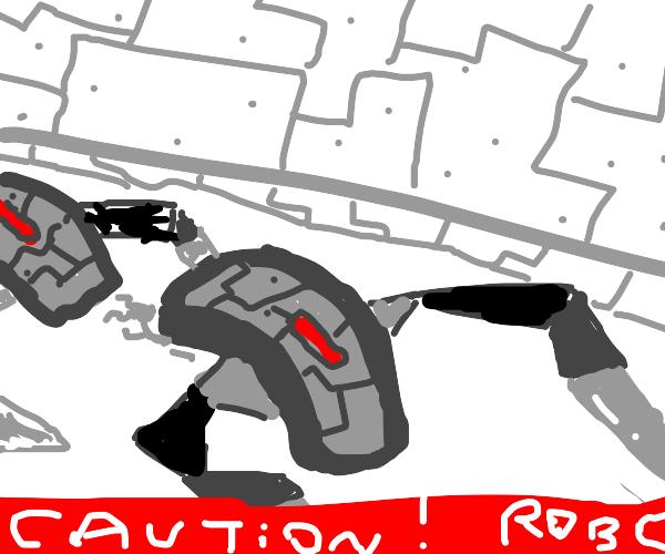 Caution! Rogue Robots! Caution! Rogue Robots!
