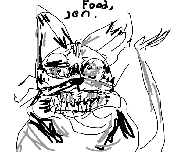 gorefield want food
