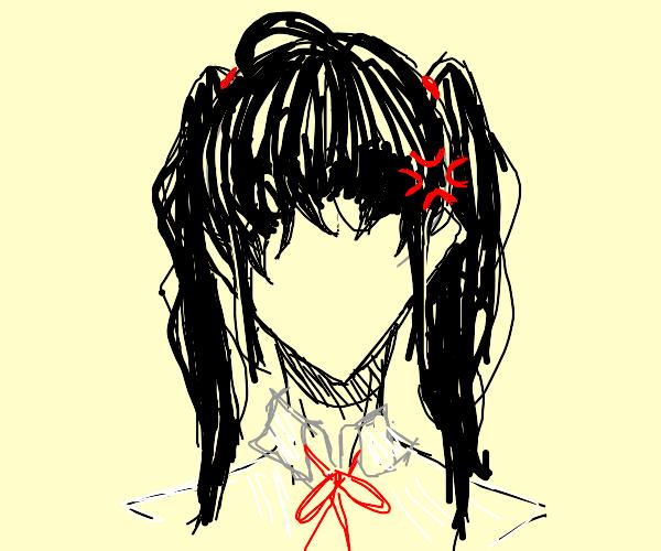 Stereotypical Anime Schoolgirls