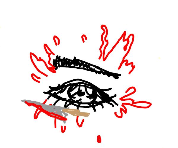 Eye is a murderer