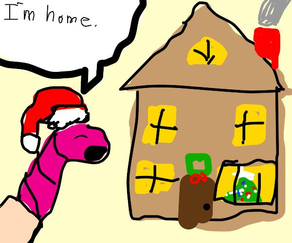 A worm's house