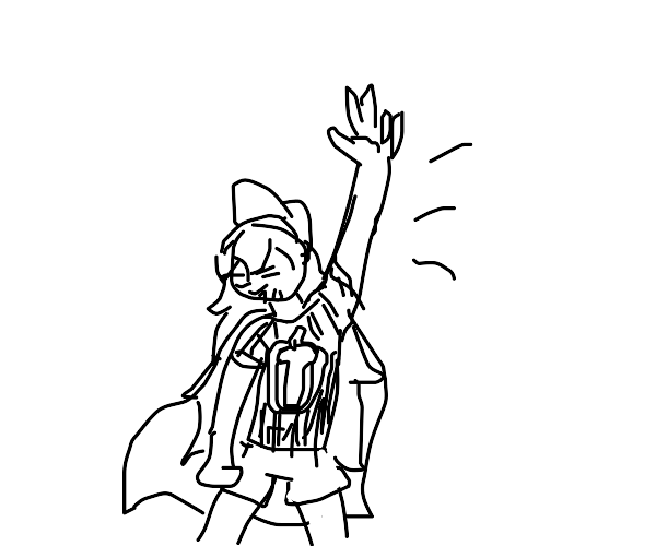 anime guy strikes a pose (not jojo)
