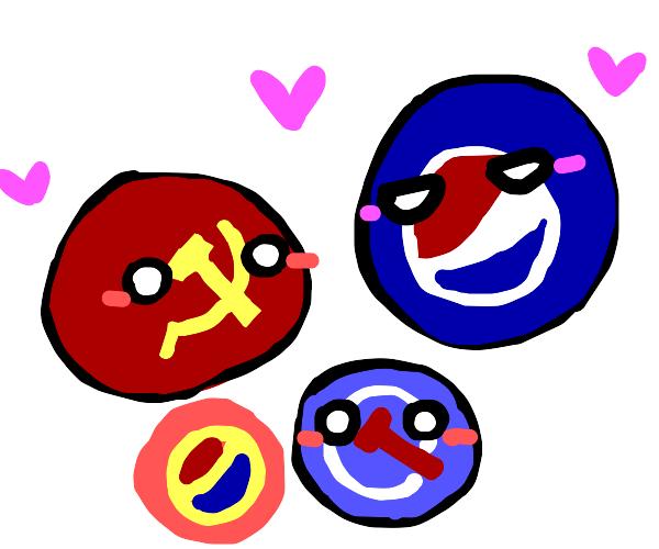 communism x pepsi
