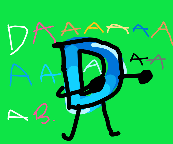 Dabbing drawception