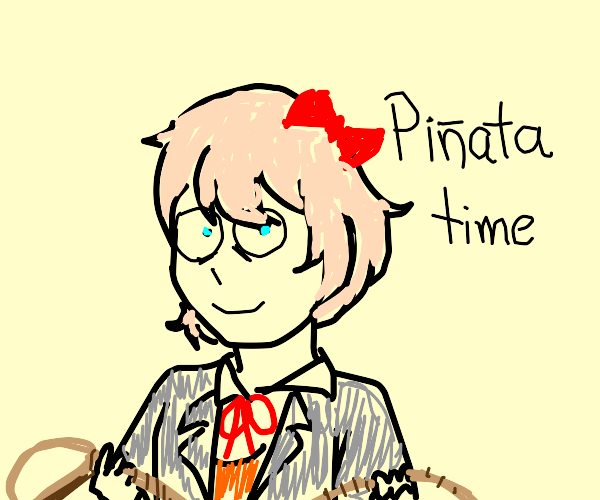 Sayori from DDLC commits not alive with rope