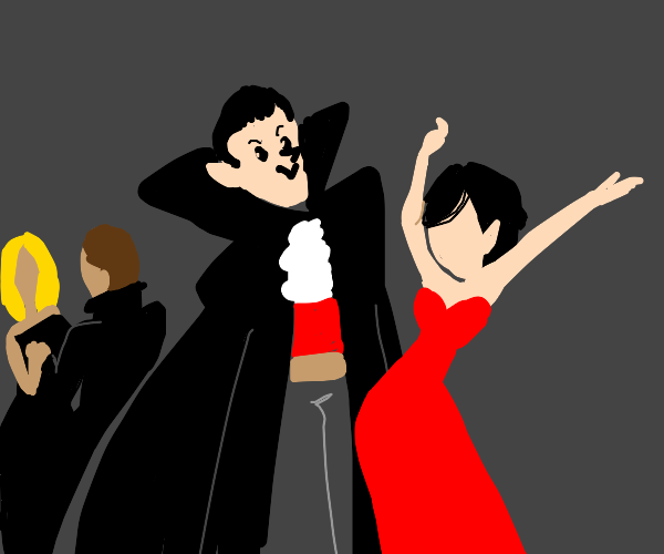 Vampire dance party!