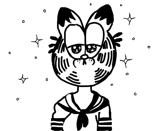anime garfield