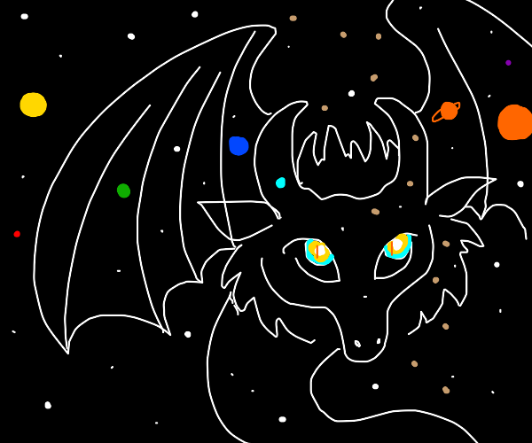 Translucent Space Dragon