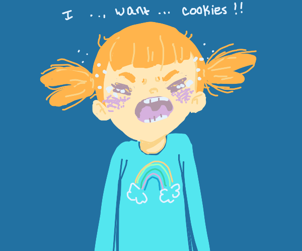 Kid wants cookies