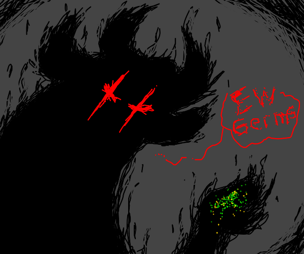 shadow demon hates germs