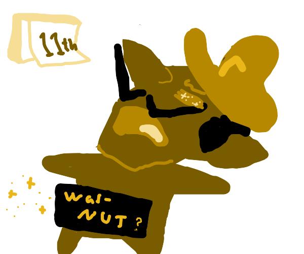Waluigi failed No Nut November on the 11th