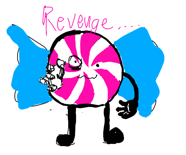 Candy demon wants revenge