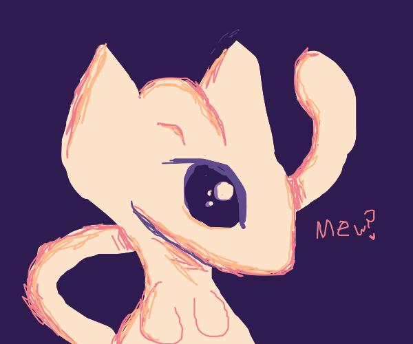 Beta MEW design pokemon red/blue