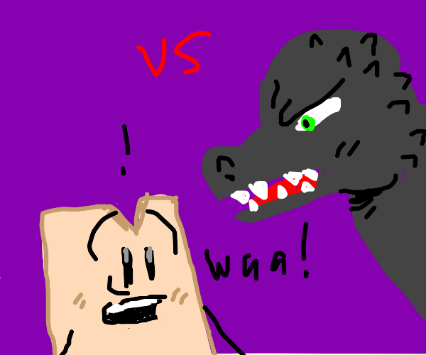 Woody Vs. Godzilla