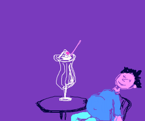 Too much Sherbert sundae