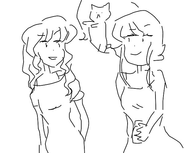 girls chat about longcat