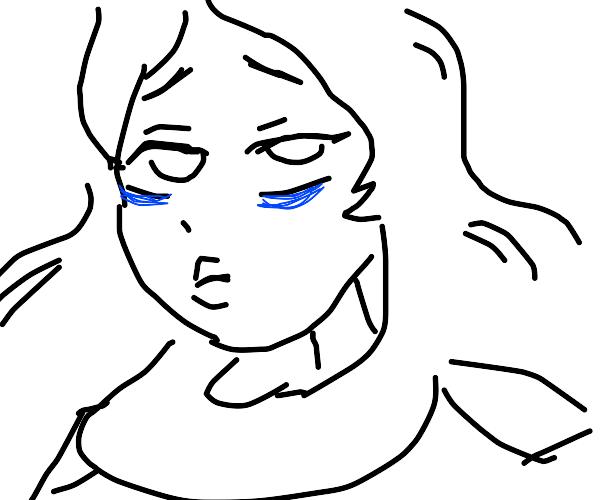 Blue girl from Steven Universe