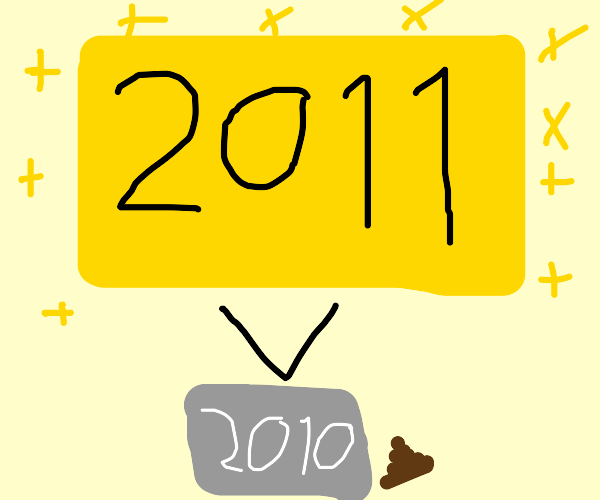 2011 is better than 2010