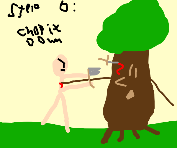step 5: the tree stabs you back