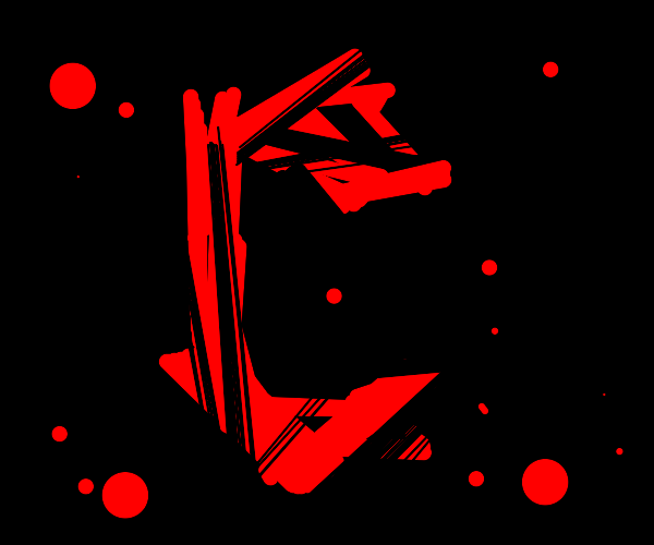 A really cool red symbol