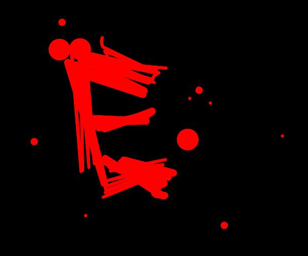 'E' written in cool, stylised lettering