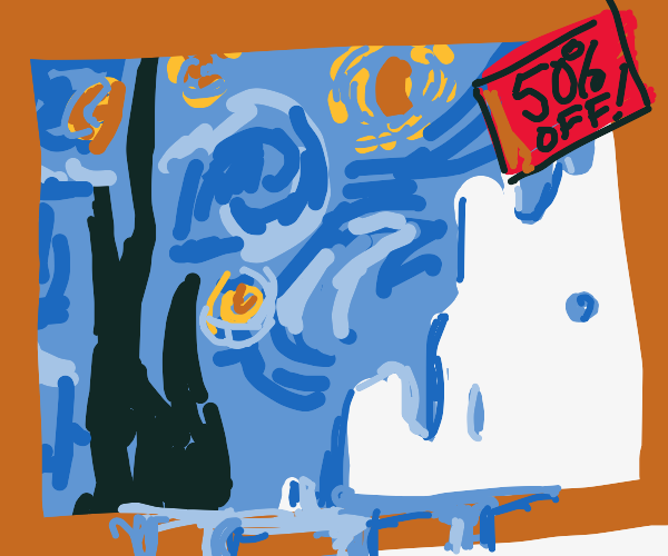 Discount Starry Night.