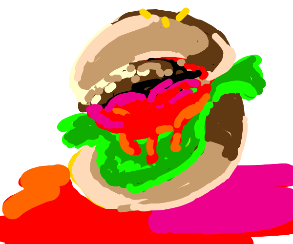 In soviet Russia, burger eats you!