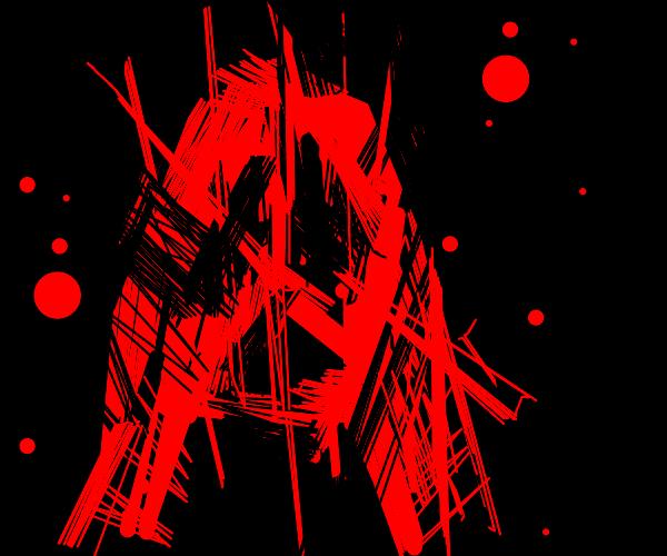 Blood splatter O