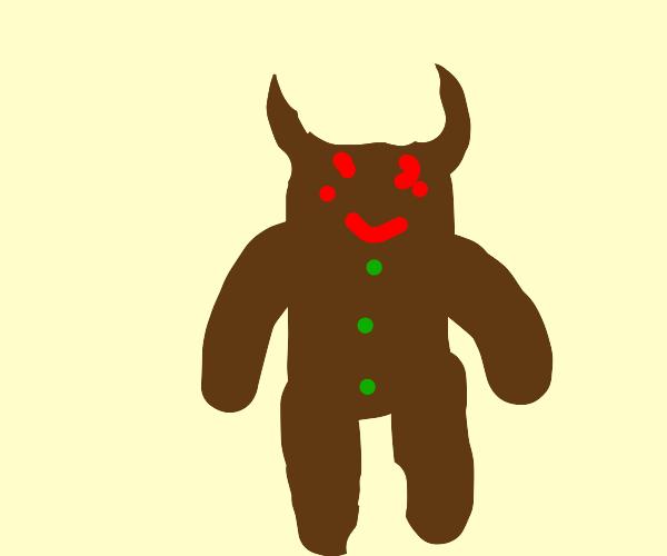 Demon gingerbead man