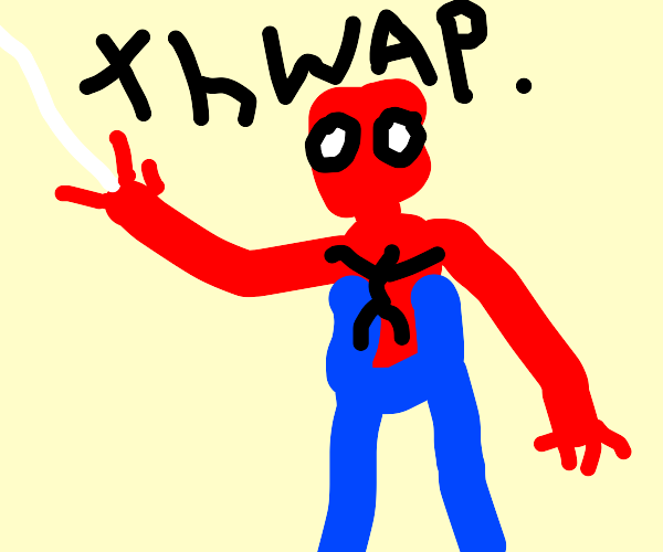 Spooder man (meme spider man)