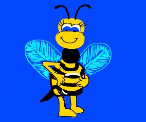 pregnant bee