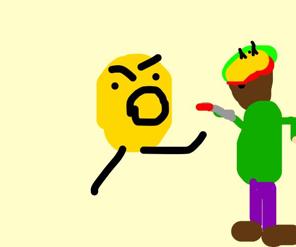 Potato Man vs Bob Marley