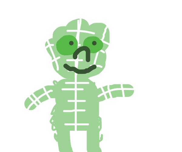 lettuce man