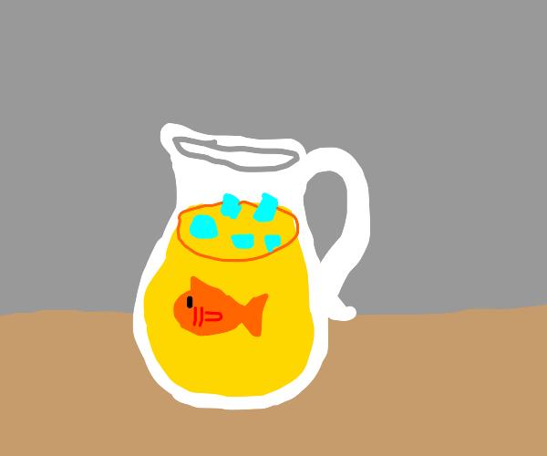 Fish in lemonade
