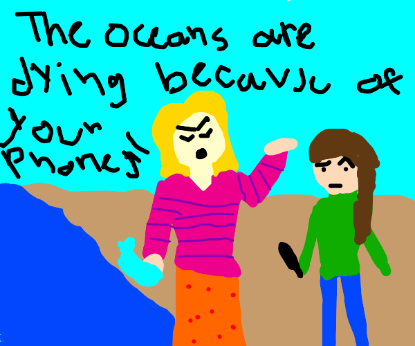the oceans are dying, a boomer comic
