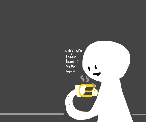 a guy that sees bee tea