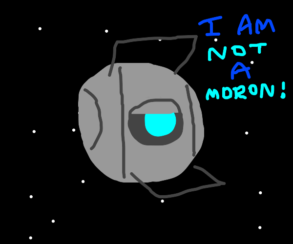 Wheatley the moron in space