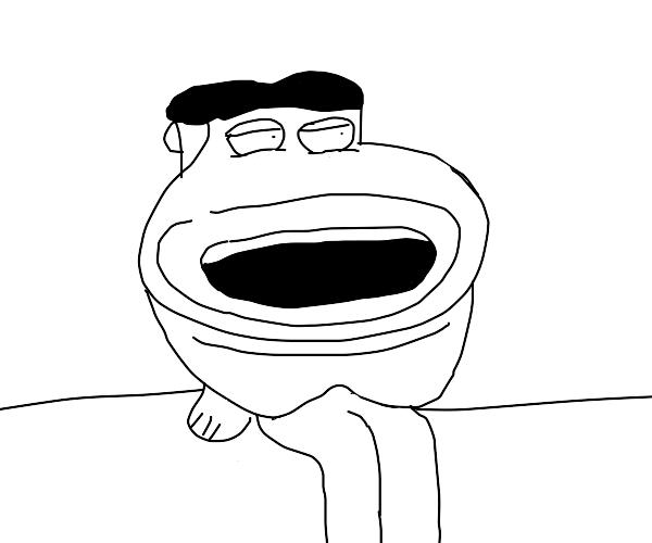 Glenn Quagmire but with toilet mouth
