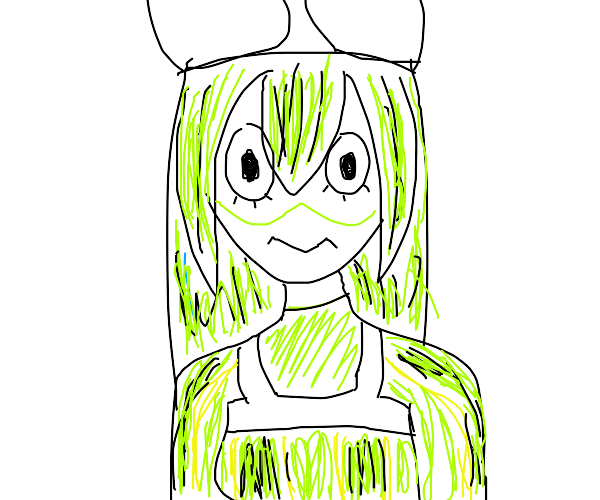 tsuyu from my hero