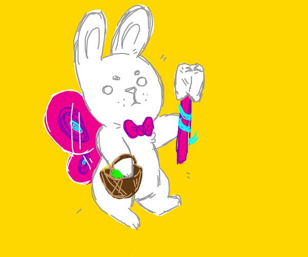 Easter Bunny / Tooth Fairy hybrid
