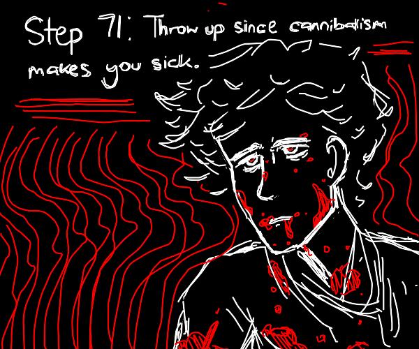 Step 70: eatHisCorpseAndLaughBcLastStepWas69