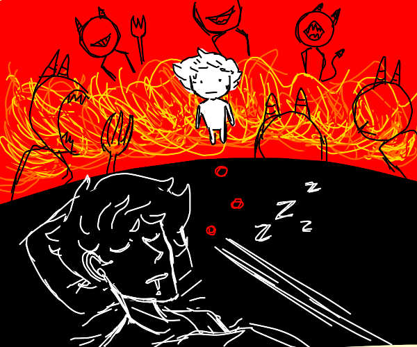 Dreaming About Going to Hell