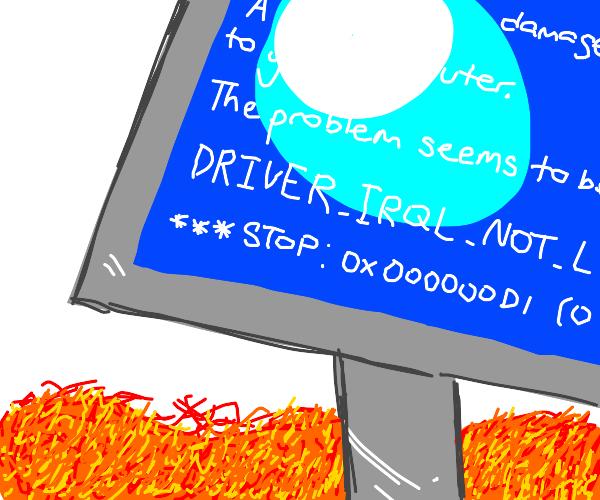 broken computer