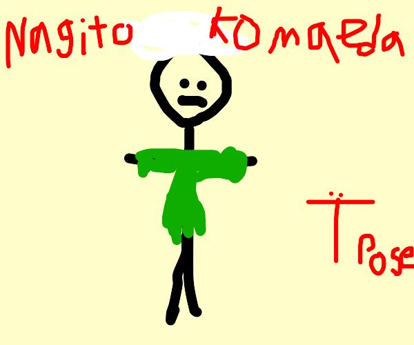 Nagito Komaeda T-posing