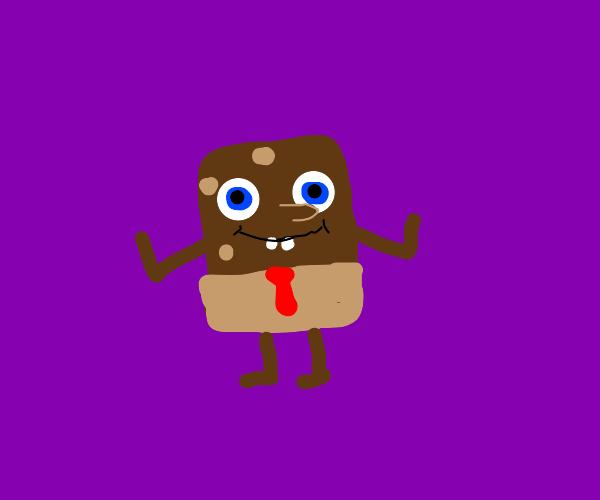 spongebob is chocolate