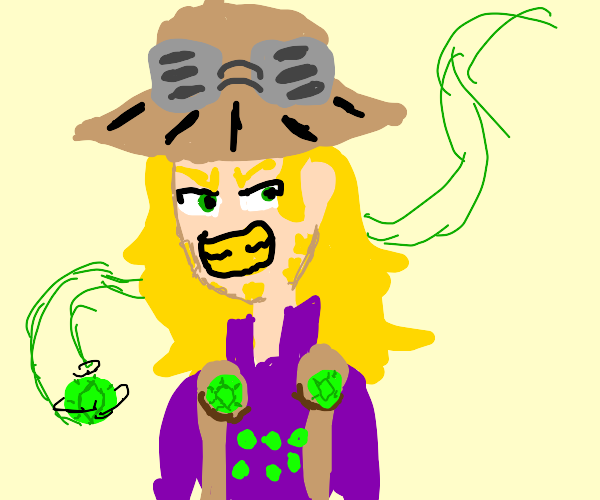 jojo guy and his flying onions