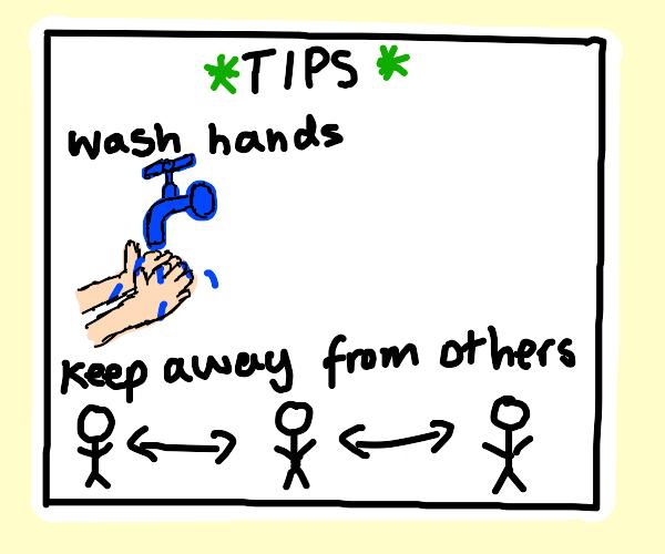 Corona virus tips