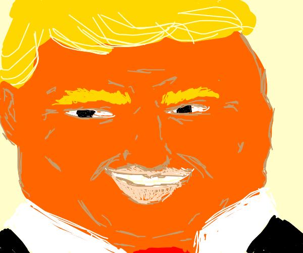 Realistic Donald Trump