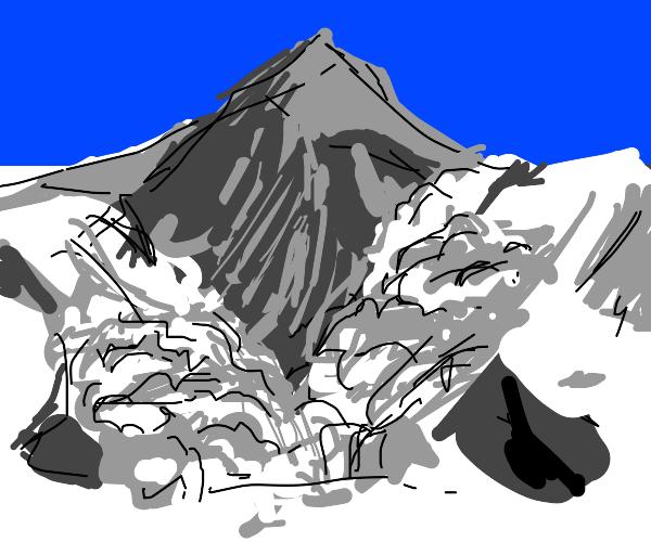 an avalanche